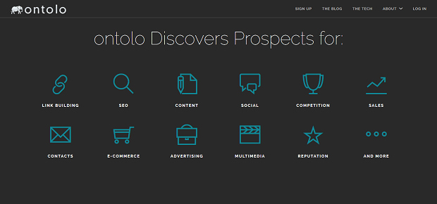 Ontolo collects and stores competitor data