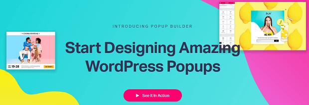 popup builder wordpress plugin - elementor