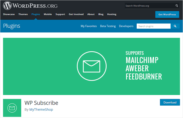 wp subscribe wordpress lead generation plugin lightweight