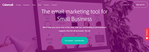 affiliate marketing tools list- cakemail