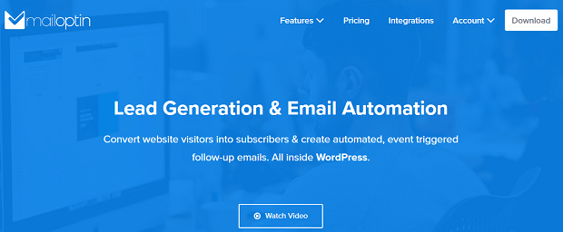 email optin wordpress plugin - MailOptin