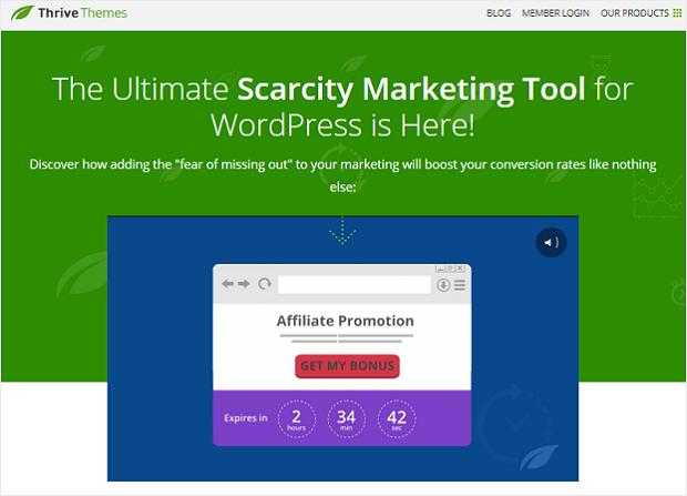 Thrive Ultimatum WordPress Plugin - Lead Generation