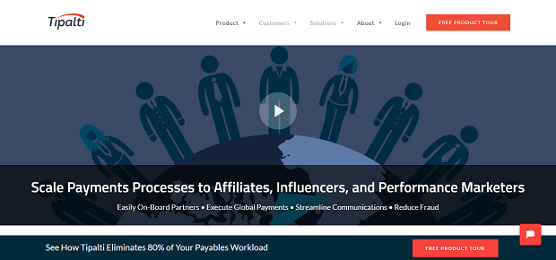 affiliate tools - tipalti