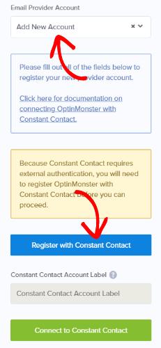 aggiungere una costante integrazione dei contatti