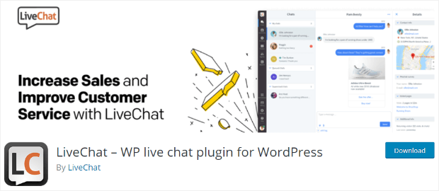 livechat wordpress plugin