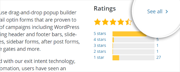 see all wordpress plugin reviews