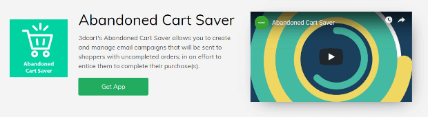 3dcart abandoned cart saver