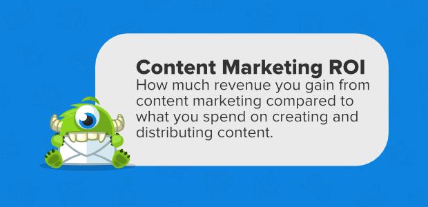 content marketing roi defined