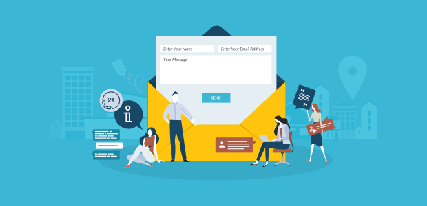 how to create a contact form for wordpress in 5 easy steps