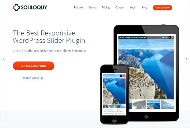 soliloquy wordpress slider plugin