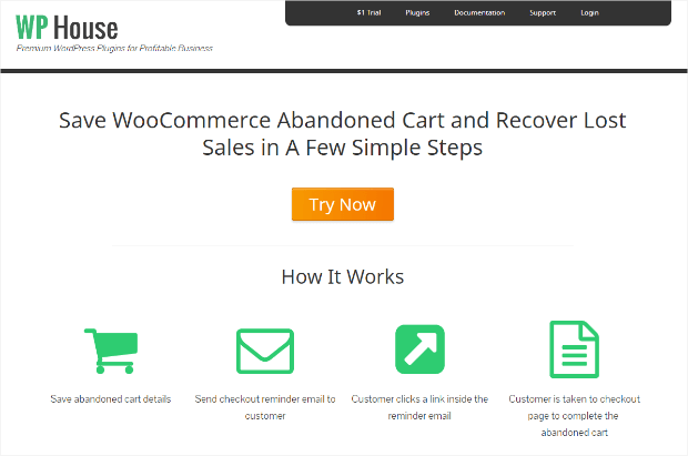 wp house woocommerce abandoned cart saver
