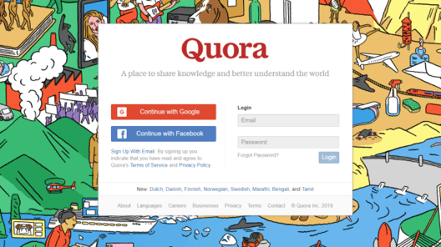 get more backlinks by answering questions on quora