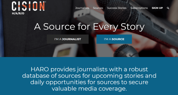 get more backlinks by being a source for a journalist