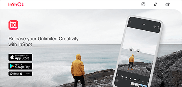 inshot instagram video editing tool