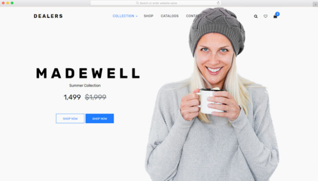 dealers ecommerce template