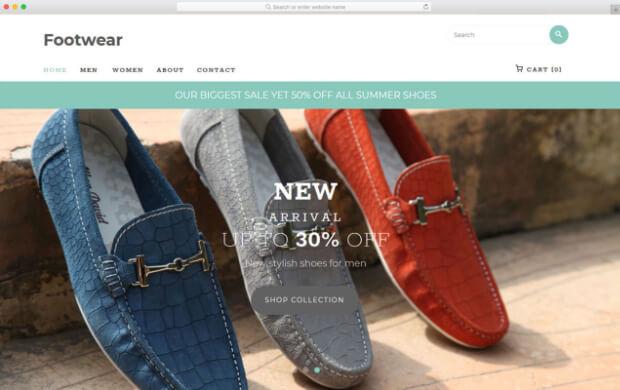 footwear template