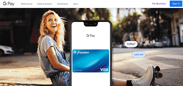 google pay mobile payment solutions