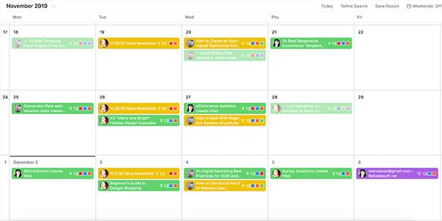 optinmonster content calendar