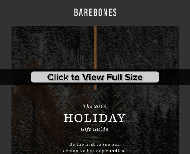 barebones holiday gift guide