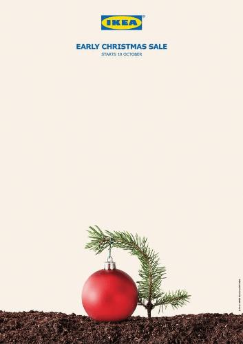 ikea holiday marketing example