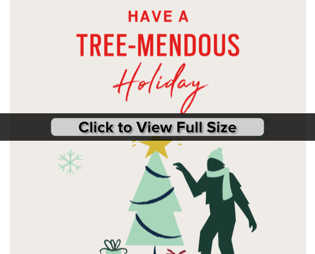 fossil holiday marketing design example