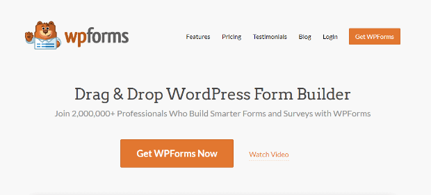 wpfroms homepage - a great tool to make a virtual conference form