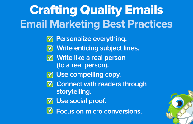 email marketing best practices: crafting quality emails