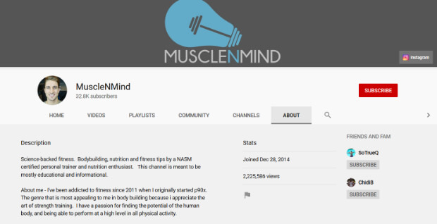 musclenmind-youtube-channel-description-keywords