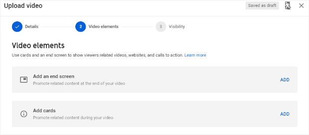 youtube video elements