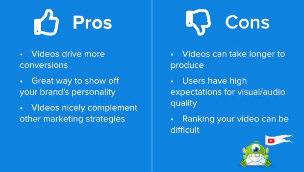 youtube pros and cons