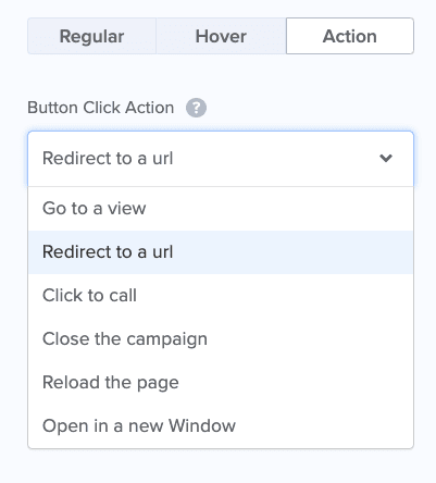 Action Button for No Redirect to a URL min 1