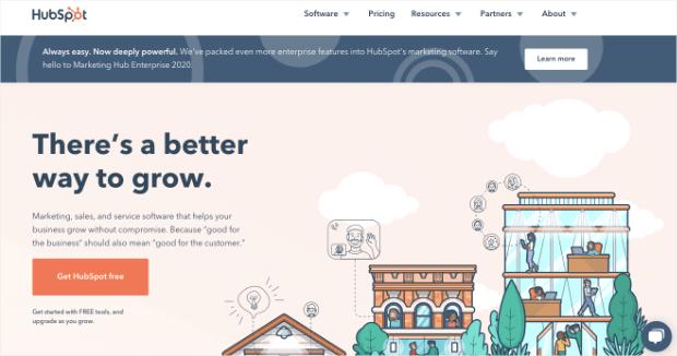 HubSpot marketing automation tool-min