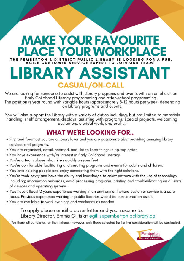 library-job-opening-newsletter