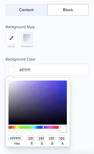 Change Block BACKGROUND Color min