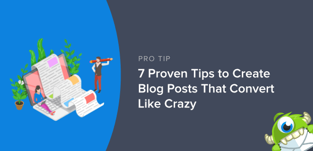 Create Blog Posts That Convert Like Crazy Featured Image