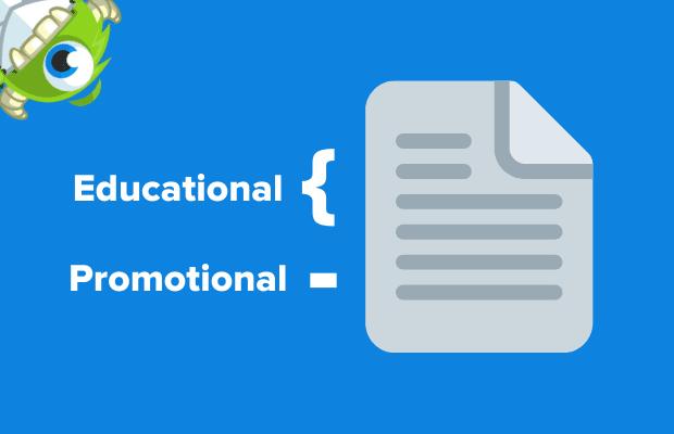 Le e-mail di affiliazione dovrebbero essere educative E promozionali