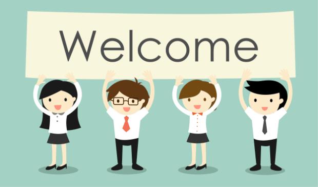 Plantilla de marketing por correo electrónico 1 - Bienvenido