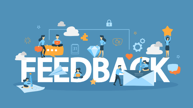 Modello di email marketing 6- Richiedi feedback