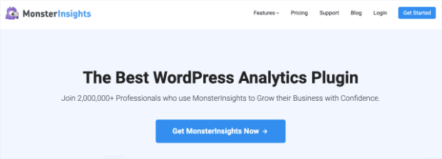 MonsterInsights Homepage
