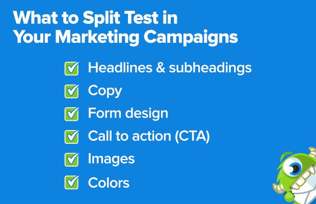 cosa dividere test nelle tue campagne di marketing