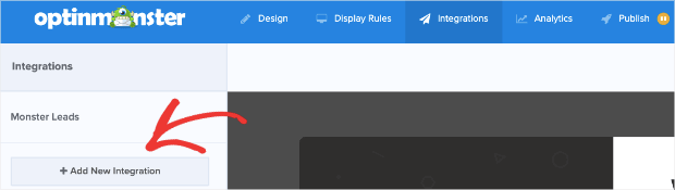 Add New Integration for your lightbox popup for shopify