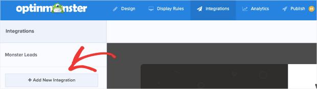 Aggiungi nuova integrazione per il tuo popup lightbox per shopify