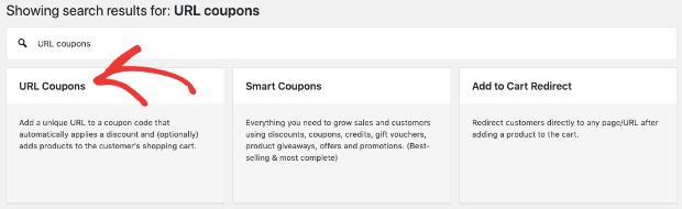Aggiungi estensione coupon URL