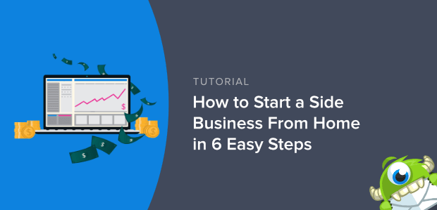 How to start a side business from home in 6 easy steps featured image