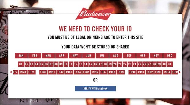 Budweiser-popup