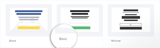 Create an Inline Campaign Basic Template
