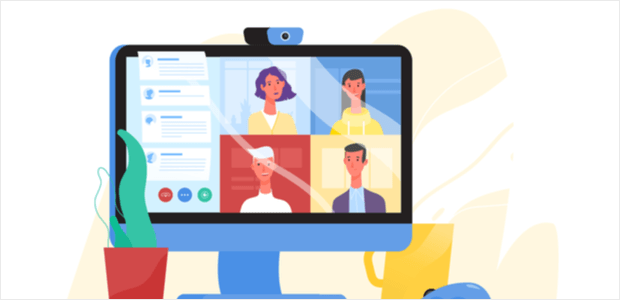What is a virtual conference?