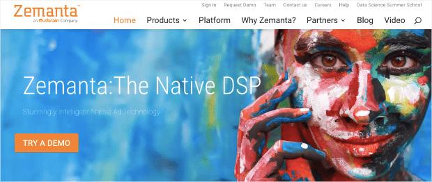 Zemanta Homepage
