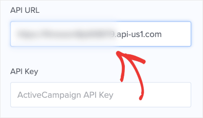 API URL from AC into OptinMonster