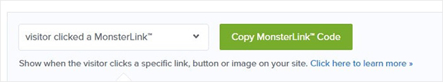 Copy Monsterlinks Button